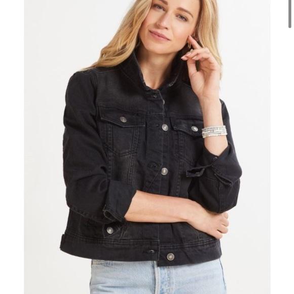 Free people denim jacket women's L